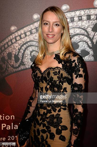 Adelaide de Clermont Tonnerre arrives at the 'Cartier: Le Style et L'Histoire' Exhibition Private Opening at Le Grand Palais on December 2, 2013 in...
