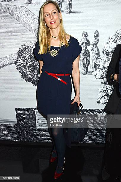 Adelaide de Clermont Tonnerre attends the 'Ruinart' Cocktail Dinner In Honour Of Georgia Russell At 51 Avenue De Iena on April 3 2014 in Paris France