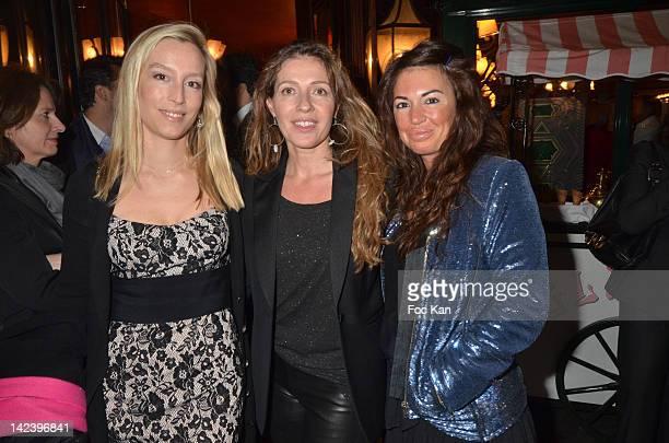 Adelaide de Clermont Tonnerre Caroline Chretiennot and Elsa Wolinski attend La Closerie des Lilas Litterary Awards 2012 5th Edition at La Closerie...
