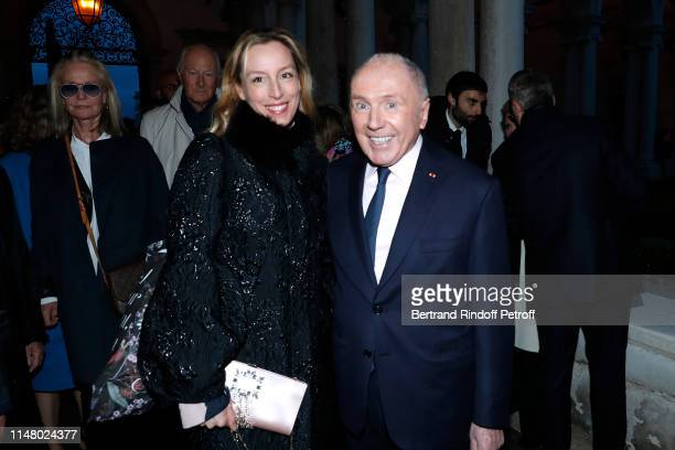 Adelaide de ClermontTonnerre and Francois Pinault attend the 58th International Art Biennale in Venice Dinner Gala at 'Fondazione Cini Isola Di San...