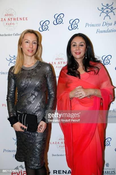 Adelaide de ClermontTonnerre and HRH Princess Diya Kumari of Jaipur attend the Charity Gala to Benefit the Princess Diya Kumari of Jaipur Foundation...