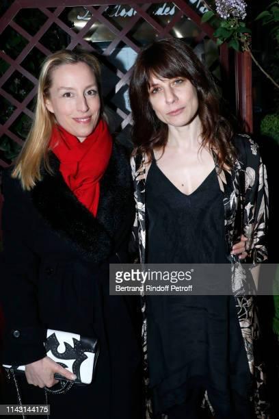 "Adelaide de Clermont-Tonnerre and Price of the ""Closerie des Lilas 2019"" for ""Les entenebres"", writer Sarah Chiche attend the ""La Closerie des Lilas""..."