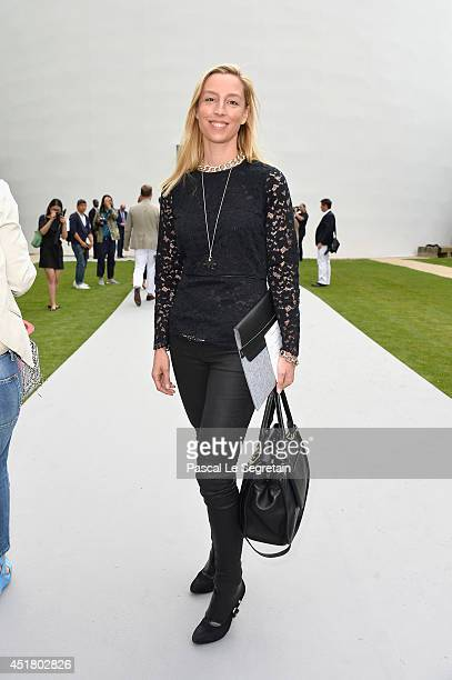Adelaide de ClermontTonnerre attends the Christian Dior show as part of Paris Fashion Week Haute Couture Fall/Winter 20142015 on July 7 2014 in Paris...