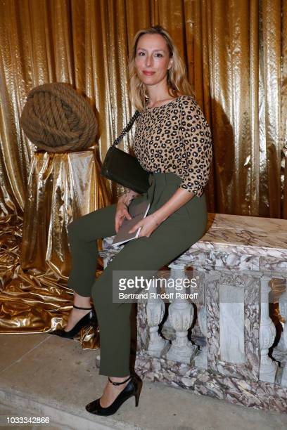 Adelaide de Clermont-Tonnerre attends the Kering Heritage Days Opening Night at 40 Rue de Sevres on September 14, 2018 in Paris, France.