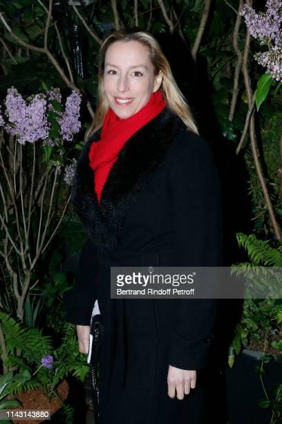 """Adelaide de Clermont-Tonnerre attends the """"La Closerie des Lilas"""" : Literary Awards 2019 at La Closerie des Lilas on April 16, 2019 in Paris, France."""