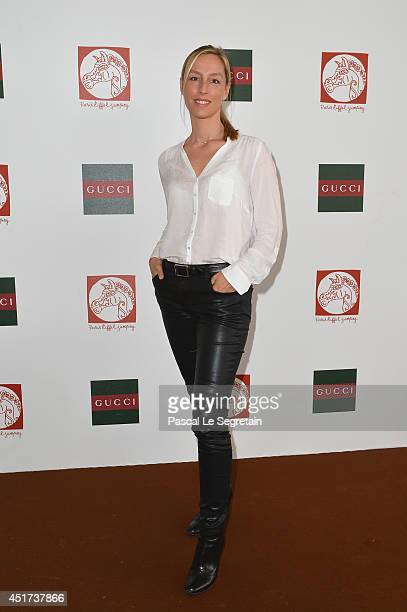 Adelaide de Clermont-Tonnerre attends the Paris Eiffel Jumping presented by Gucci at Champ-de-Mars on July 5, 2014 in Paris, France.