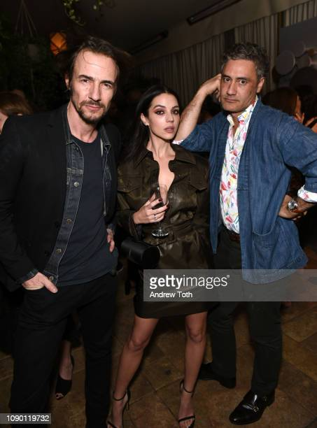 Adelaide Kane and Taika Waititi attend Entertainment Weekly Celebrates Screen Actors Guild Award Nominees sponsored by L'Oreal Paris Cadillac And...