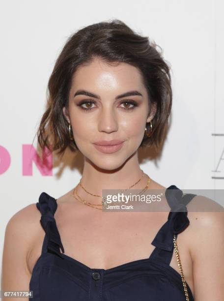Adelaide Kane attends NYLON's Annual Young Hollywood May Issue Event With Cover Star Rowan Blanchard at Avenue on May 2 2017 in Los Angeles California