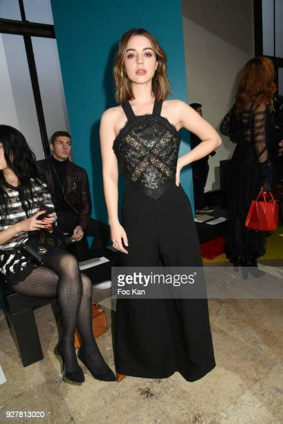 Adelaide Kane attends the Shiatzy Chen show as part of the Paris Fashion Week Womenswear Fall/Winter 2018/2019 on March 52018 in Paris France