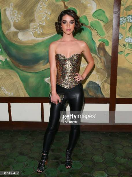 Adelaide Kane attends the Wolk Morais Collection 5 Fashion Show at Yamashiro on May 22 2017 in Los Angeles California