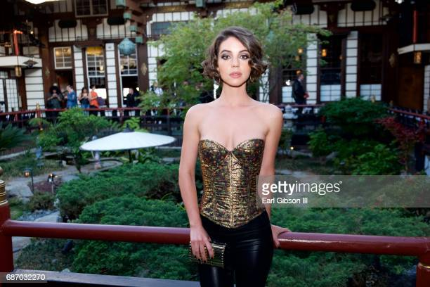 Adelaide Kane attends the Wolk Morais Collection 5 Fashion Show at Yamashiro Hollywood on May 22 2017 in Los Angeles California