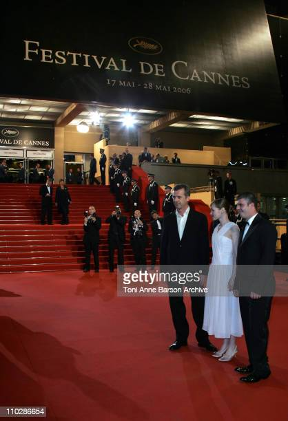 Adelaide Leroux during 2006 Cannes Film Festival 'Flandres' Premiere at Palais des Festival in Cannes France