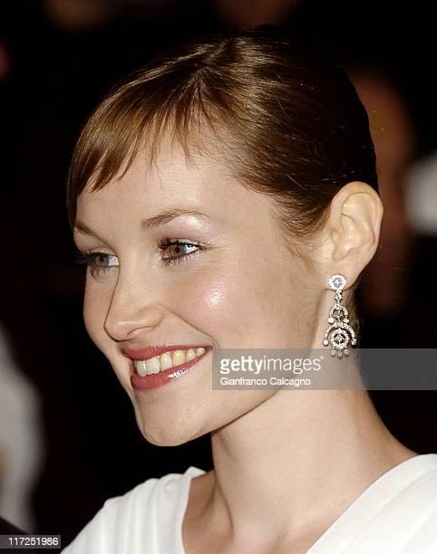 Adelaide Leroux during 2006 Cannes Film Festival Flandres Premiere at Palais des Festival in Cannes France