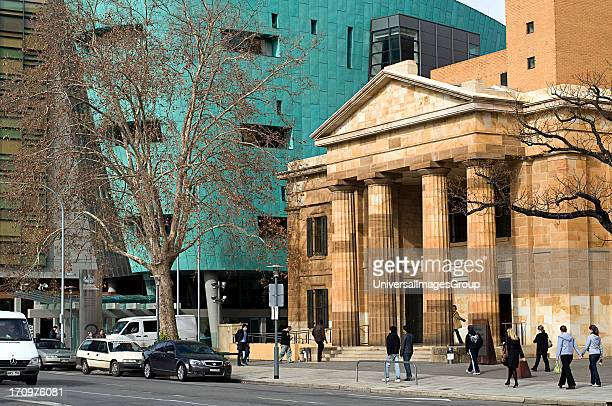 Adelaide Magistrates Court and Roma Mitchell Commonwealth Law Courts Building Adelaide SA South Australia Australia