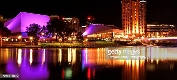 adelaide night - adelaide festival stock pictures, royalty-free photos & images