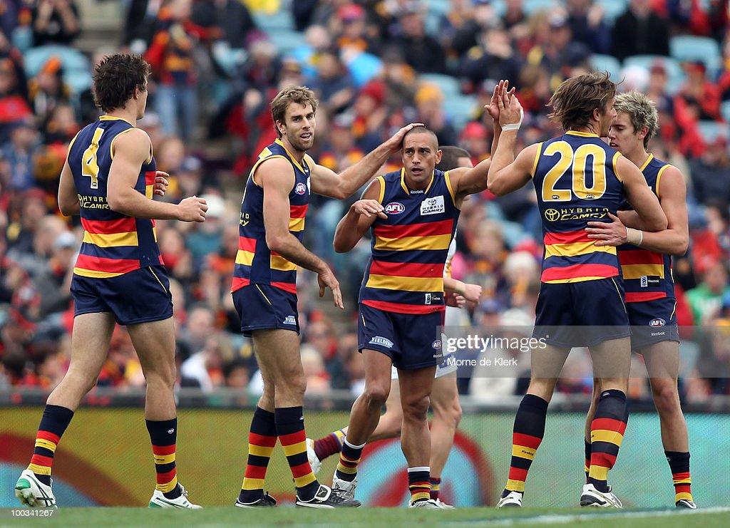 AFL Rd 9 - Crows v Lions