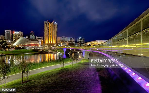 Adelaide River Torrens & The Riverbank Precinct Footbridge, South Australia