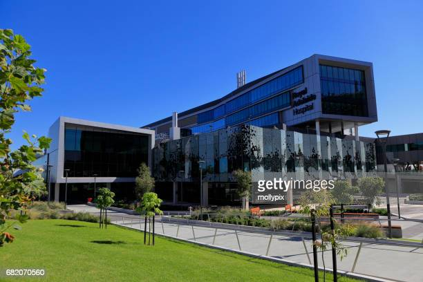 adelaide south australia hospital new building exterior - adelaide stock pictures, royalty-free photos & images