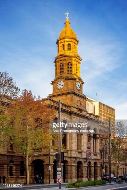 adelaide town hall, adelaide, south australia - adelaide stock-fotos und bilder