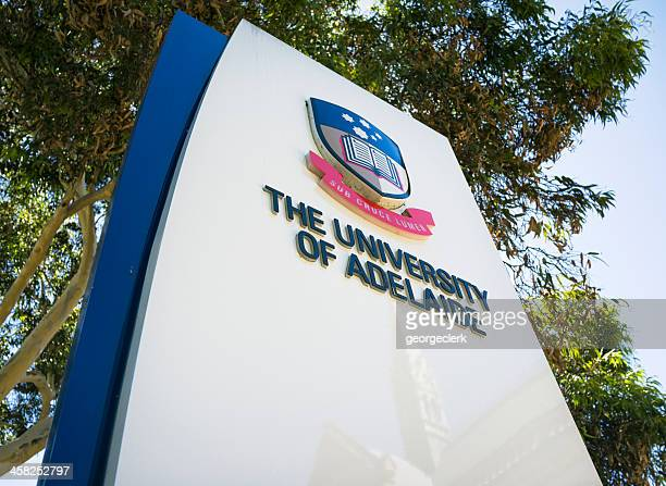 Adelaide University Sign