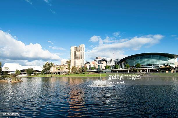 adelaide waterfront - adelaide stock pictures, royalty-free photos & images