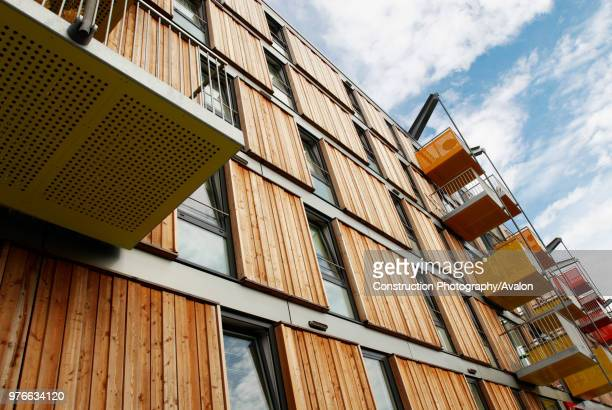 Adelaide wharf, a sustainable development and 2008 RIBA award winning design in Hackney, North-East London, UK.
