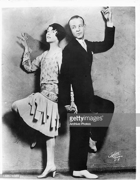Adele Astaire and Fred Astaire publicity portrait for the stage production 'Lady Be Good' 1925