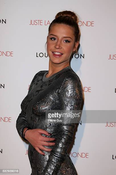 Adele Exarchopoulos attends 'It's Only The End Of The World' Movie Afterparty at Club by Albane during the 69th Annual Cannes Film Festival on May 19...