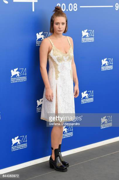 Adele Exarchopoulos attends the 'Racer And The Jailbird ' photocall during the 74th Venice Film Festival on September 8 2017 in Venice Italy