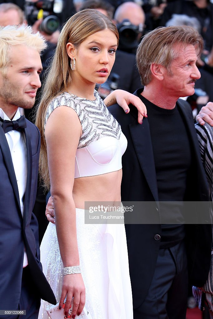 Adele Exarchopoulos attends the screening of 'The Last Face' at the annual 69th Cannes Film Festival at Palais des Festivals on May 20, 2016 in Cannes, France.