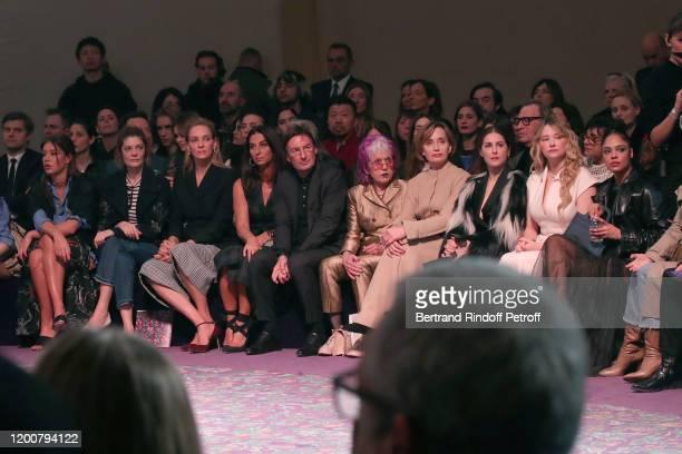 Adele Exarchopoulos, Chiara Mastroianni, Uma Thurman, Elisabetta Beccari, CEO of Dior Pietro Beccari, Judy Chicago, Kristin Scott Thomas, Amira...