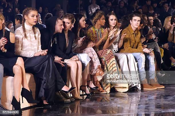 Adele Exarchopoulos Jamie Bell Kate Mara Emma Roberts Atlanta de Cadenet Taylor Ciara Suki Waterhouse and GabrielKane DayLewis attend the HM Studio...