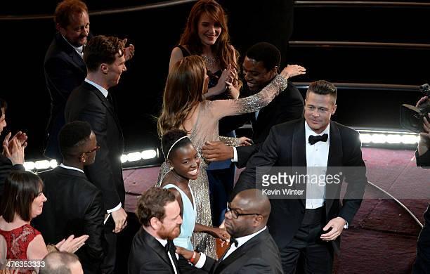 Adele Fassbender Peter Nyong'o Jr Benedict Cumberbatch Michael Fassbender Lupita Nyong'o Angelina Jolie Sari Mercer Chiwetel Ejiofor director Steve...