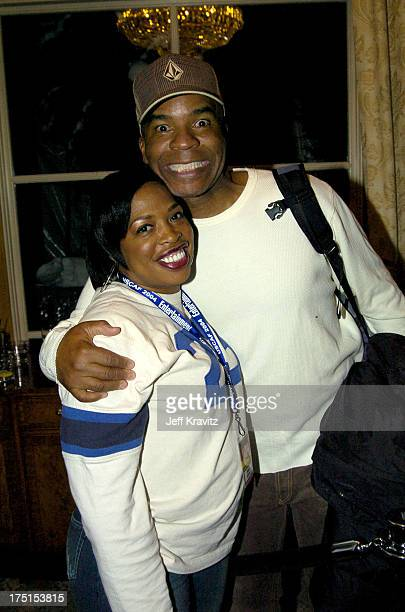 Adele Givens and David Alan Grier during The 10th Annual US Comedy Arts Festival MAXIM Magazine Takes Over Aspen at Whiskey Rocks at the St Regis in...
