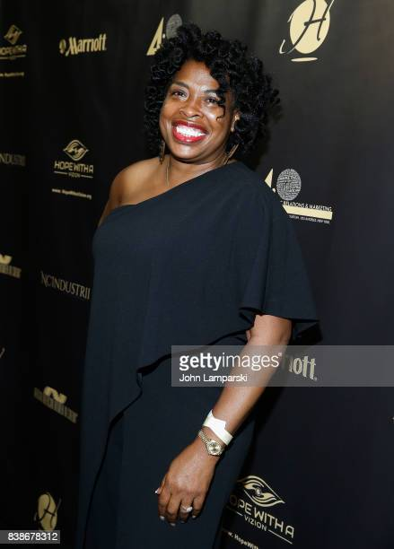 Adele Givens attends during the 2017 LOL Comedy Honors Awards Show at Alhambra Ballroom on August 24 2017 in the of New York City