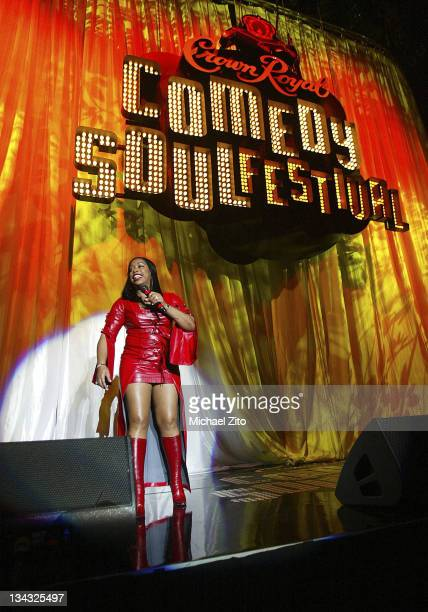 Adele Givens performs at the Royal Crown Comedy Soul Festival on Friday December 26 2003