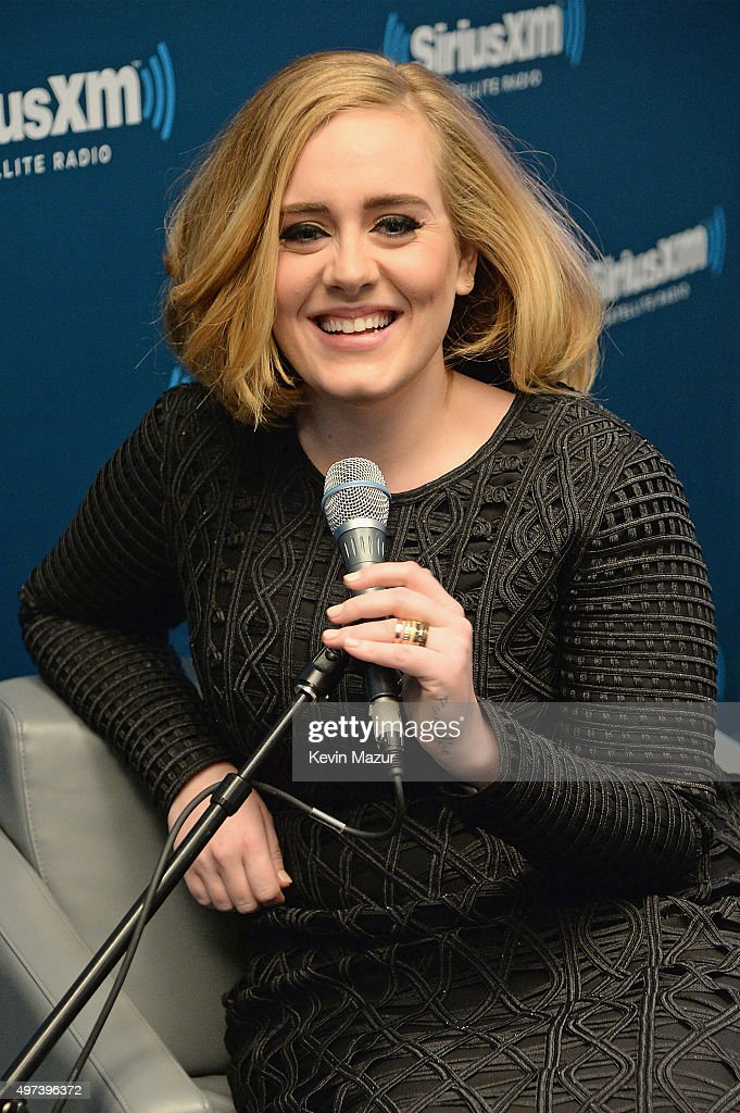 Adele Goes One On One With Fans During Exclusive SiriusXM Town Hall Special In The SiriusXM Studios