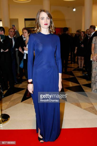 Adele Haenel arrives at the Cesar Film Awards 2018 At Salle Pleyel on March 2 2018 in Paris France