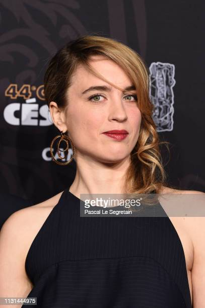 Adele Haenel arrives at the Cesar Film Awards 2019 at Salle Pleyel on February 22 2019 in Paris France
