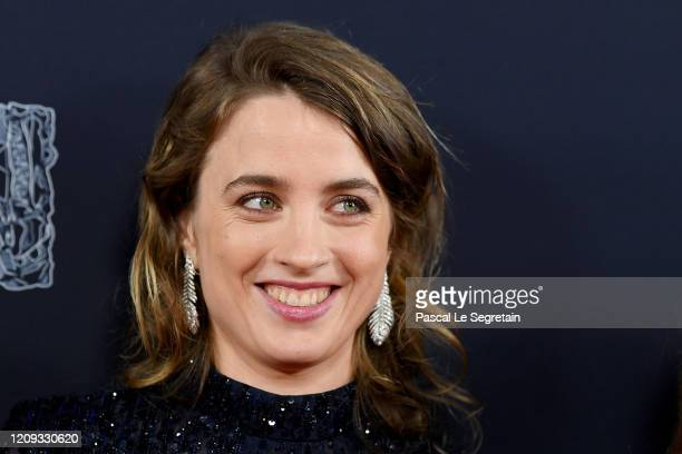 Adele Haenel arrives at the Cesar Film Awards 2020 Ceremony At Salle Pleyel In Paris on February 28, 2020 in Paris, France.