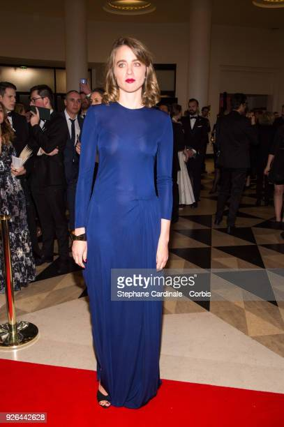 Adele Haenel at Salle Pleyel on March 2 2018 in Paris France