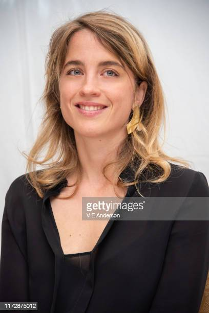 Adele Haenel at the Portrait Of A Lady On Fire Press Conference at the Fairmont Royal York on September 06 2019 in Toronto Canada