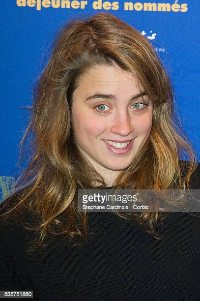 Adele Haenel attends at the Lunch for Cesar Nominees at the Fouquet's in Paris
