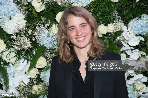 Adele Haenel attends the 16th Sidaction as part of Paris Fashion Week on January 25 2018 in Paris France