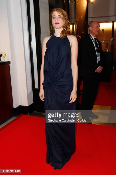 Adele Haenel attends the Cesar Film Awards 2019 at Salle Pleyel on February 22 2019 in Paris France
