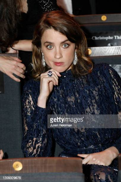 Adele Haenel attends the Cesar Film Awards 2020 Ceremony At Salle Pleyel In Paris on February 28, 2020 in Paris, France.