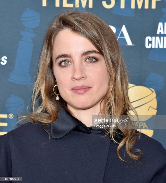 Adele Haenel attends the HFPA's 2020 Golden Globes Awards Best Motion Picture Foreign Language Symposium at the Egyptian Theatre on January 04 2020...