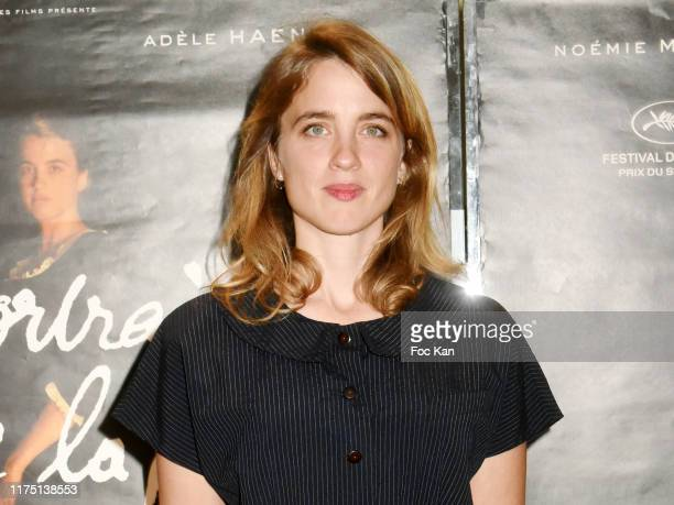 Adele Haenel attends the Portrait De La Jeune Fille en Feu Paris premiere at UGC Cite Les Halles on September 16 2019 in Paris France