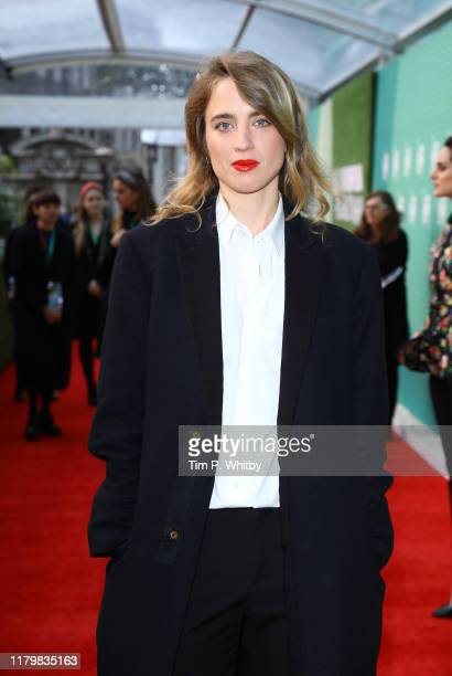 Adele Haenel attends the Portrait Of A Lady On Fire UK Premiere during the 63rd BFI London Film Festival at the Embankment Gardens Cinema on October...