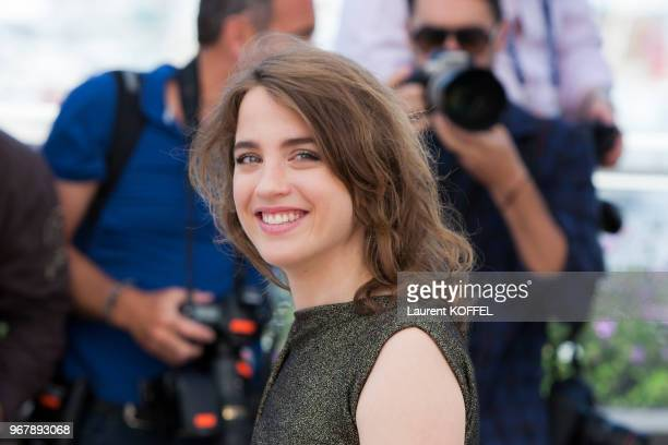 Adele Haenel attends 'The Unknown Girl ' Photocall during the 69th annual Cannes Film Festival at the Palais des Festivals on May 18 2016 in Cannes...